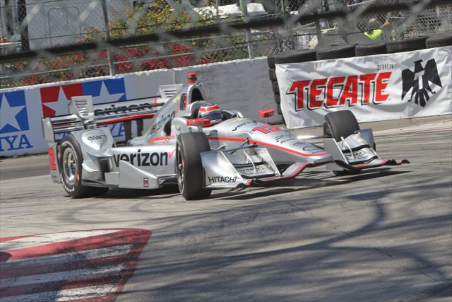 Indycar | Poker Penske nelle FP3 a Long Beach