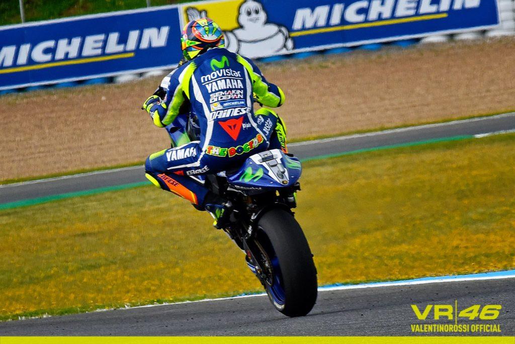MotoGP   Rossi in pole a Jerez davanti a Lorenzo e Marquez