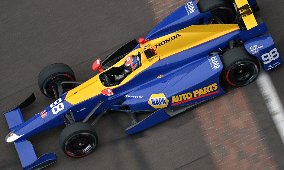 Indycar | Rossi al comando nelle libere 6, la pioggia rivoluziona gli orari