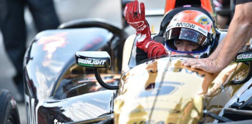 Indycar | Hinchcliffe conquista la pole a Indianapolis