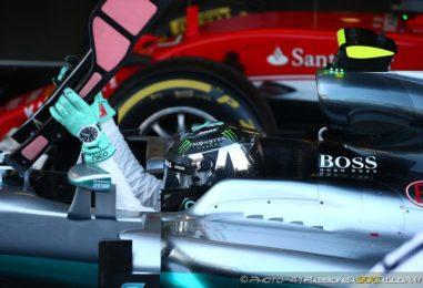 """F1   GP Ungheria, Pole con """"giallo"""" per Nico Rosberg"""