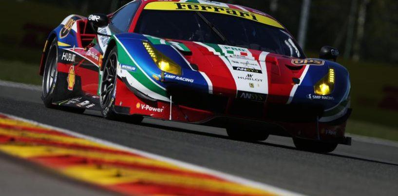 WEC   Spa: Porsche e Ferrari dominano nelle qualifiche