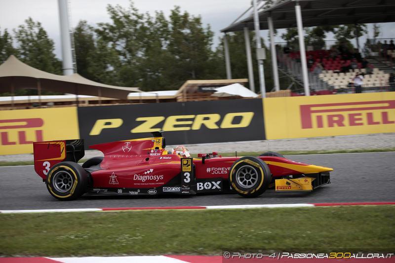 GP2 | Spagna: Nato beffa Gasly e vince gara-1