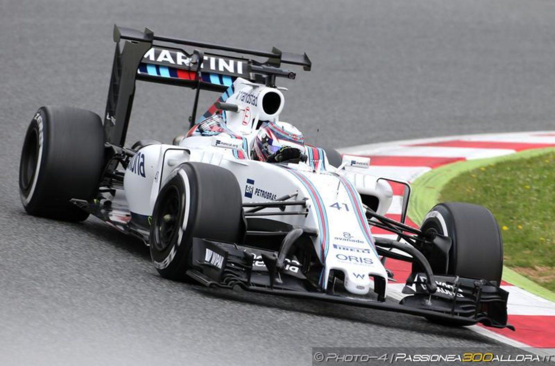 F1   Test Barcellona, day 1: Button il più veloce al mattino
