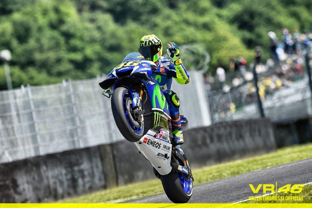 MotoGP | Mugello, Valentino Rossi in pole su Viñales e Iannone