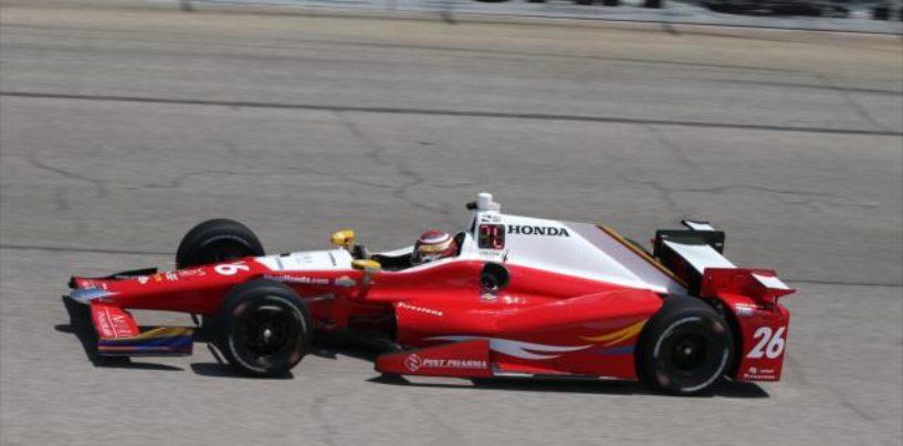 Indycar | Prima pole in carriera per Carlos Muñoz in Texas