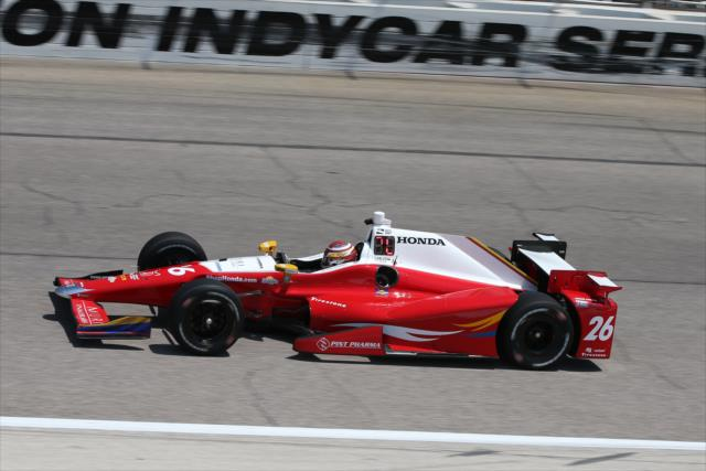Indycar | Prima pole in carriera per Carlos Muñoz in Texas