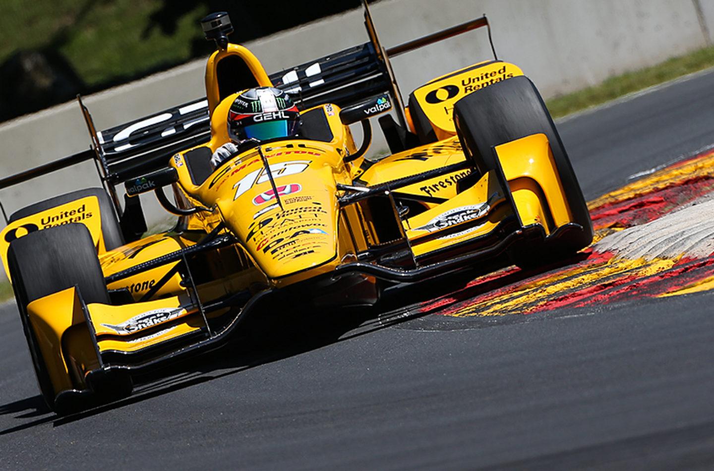 Indycar   Rahal il più veloce nelle prove di venerdì