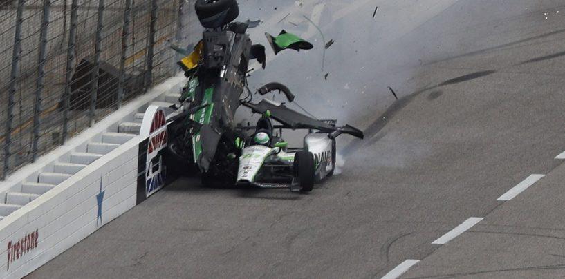 Indycar   Gara sospesa per pioggia, brutto incidente per Newgarden