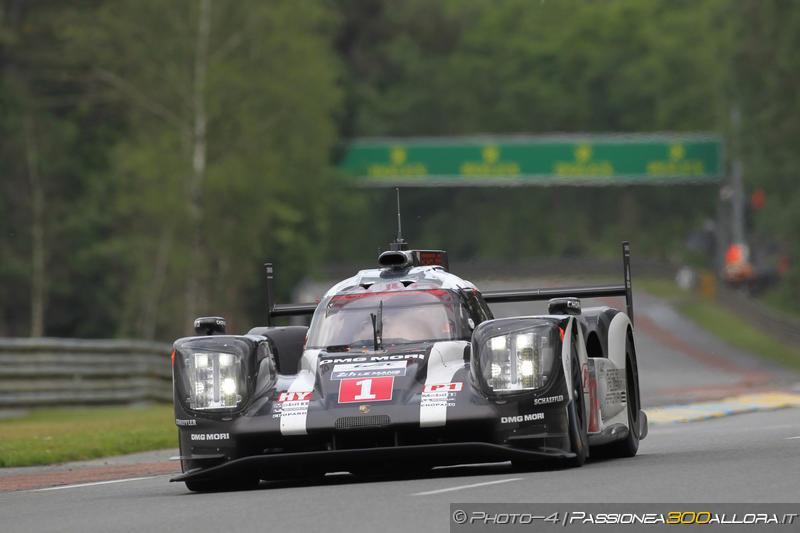 WEC | Le Mans: arriva la pioggia, Porsche ancora prima
