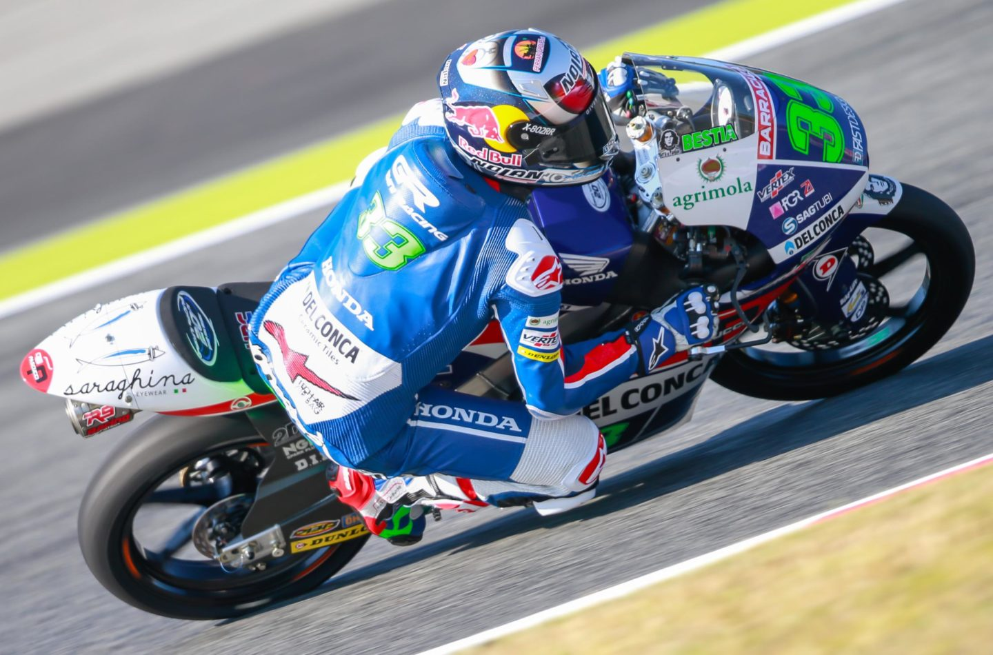 Motomondiale, GP Aragona: Lowes e Bastianini in pole in Moto2 e Moto3