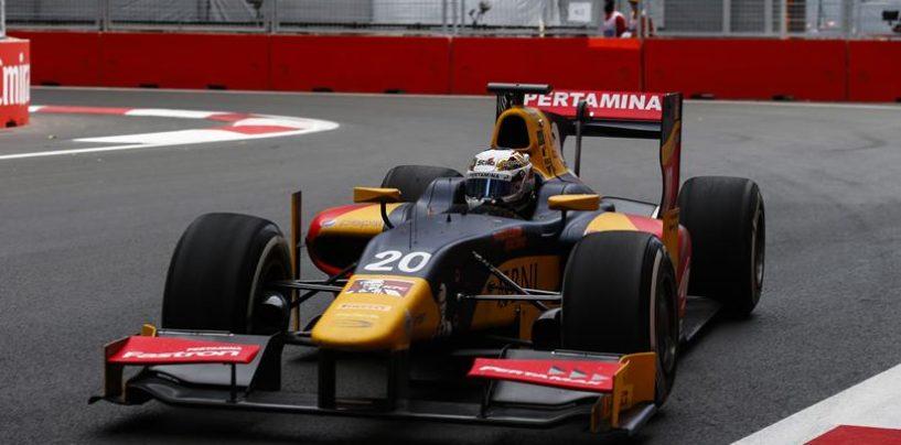GP2 | Baku: prima pole per Antonio Giovinazzi