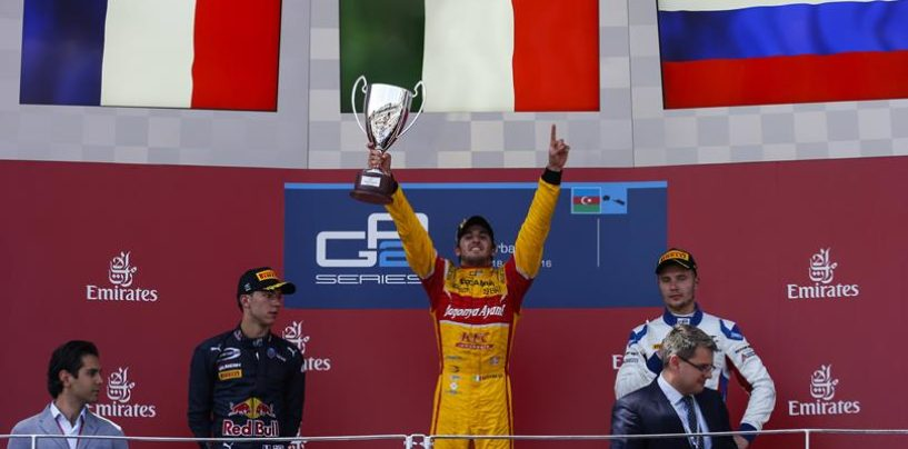 GP2 | Baku: Giovinazzi colpisce ancora, Matsushita semina il panico