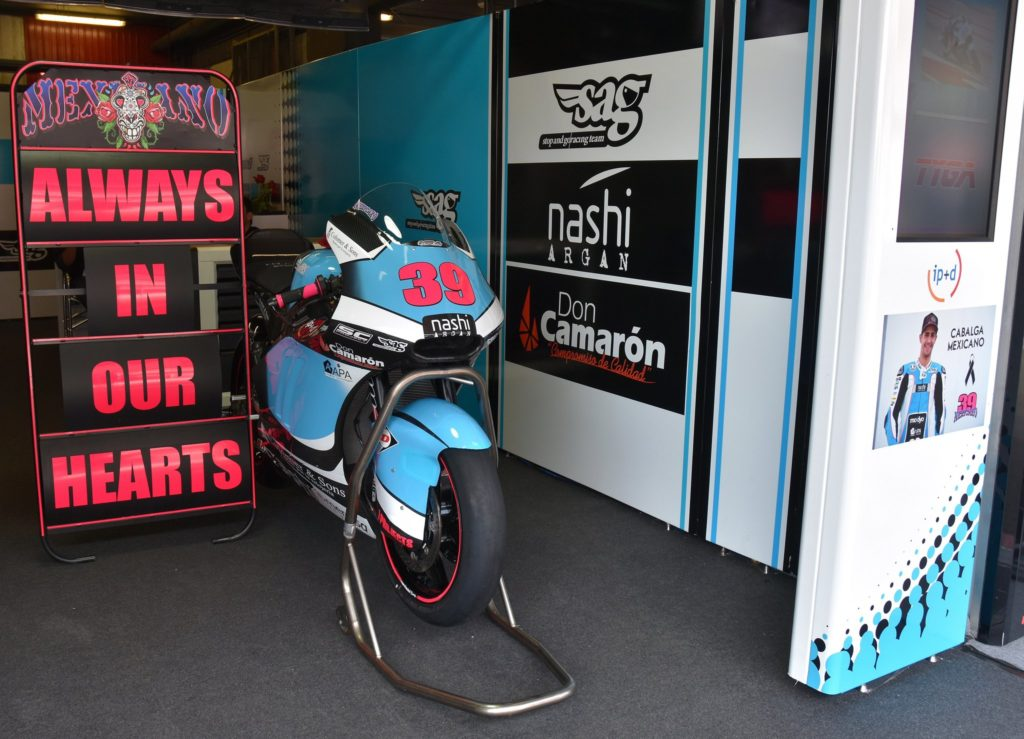 Moto2   Il team Sag spiega l'uscita di pista fatale di Salom
