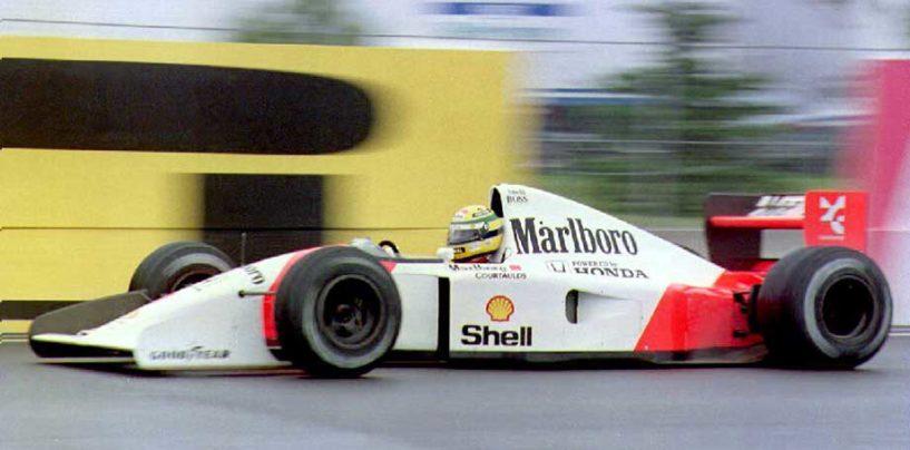 Senna e la pole a Montréal 1992