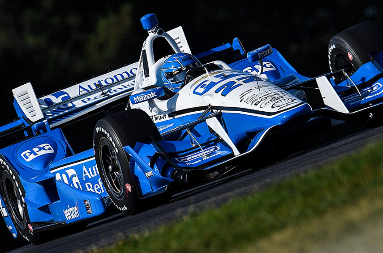 Indycar   Pagenaud si prende la pole a Mid-Ohio