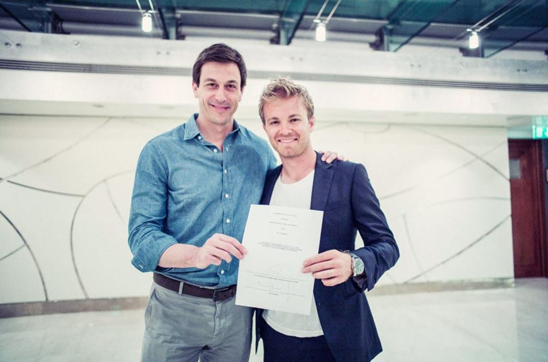 F1 | Mercedes: Nico Rosberg rinnovato per altri due anni