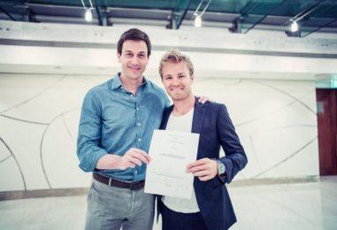 F1   Mercedes: Nico Rosberg rinnovato per altri due anni