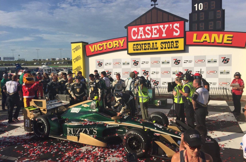 Indycar   Newgarden domina in Iowa