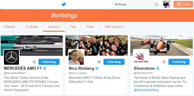 F1 | Il GP di Gran Bretagna visto su Twitter