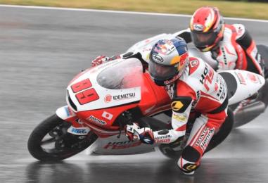 Moto3   Pawi trionfa nel diluvio al Sachsenring su Locatelli e Bastianini