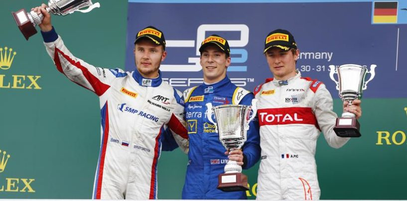 GP2 | Germania: Lynn torna alla vittoria, Sirotkin nuovo leader