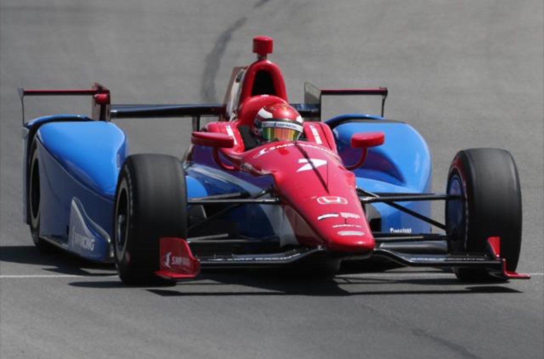 Indycar   Prima pole per Aleshin a Pocono