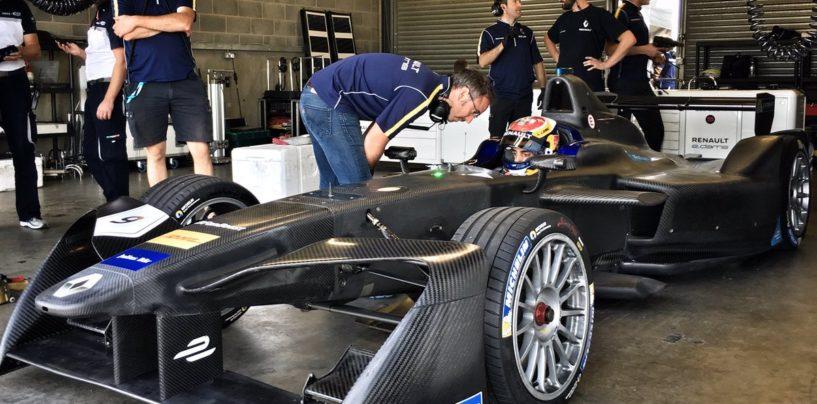 Formula E | Buemi subito leader nei test di Donington