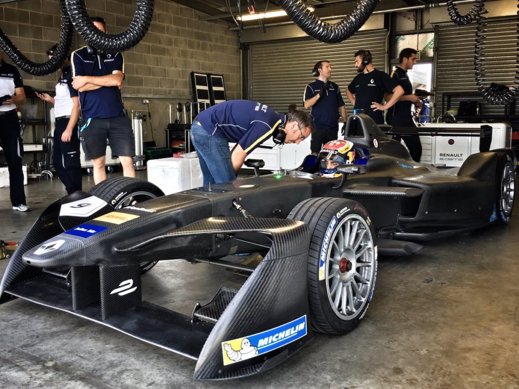 Formula E   Buemi subito leader nei test di Donington