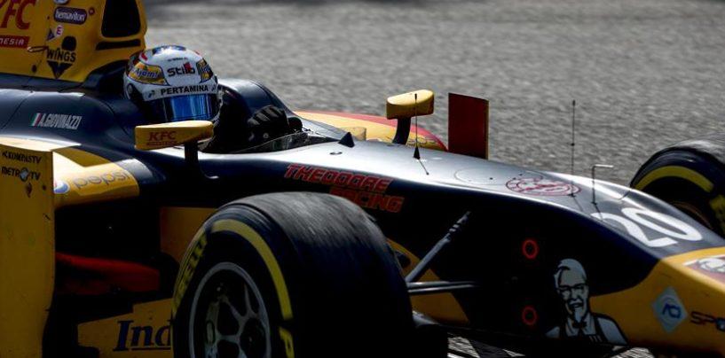 GP2   Belgio: Giovinazzi vince la sprint race, anche Ghiotto sul podio