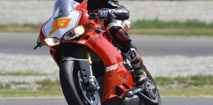 SBK | Melandri, test sulla Panigale stradale ad Adria