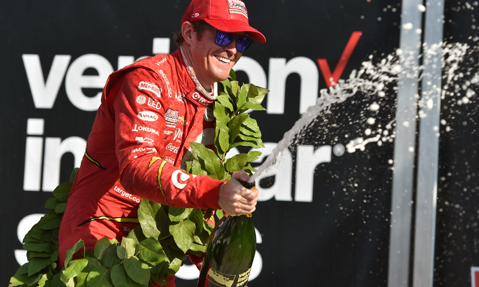 Indycar | Scott Dixon domina al Glen, Power out