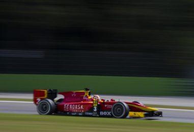 GP2 | Italia: vittoria in scioltezza per Nato, nuovo podio per Giovinazzi