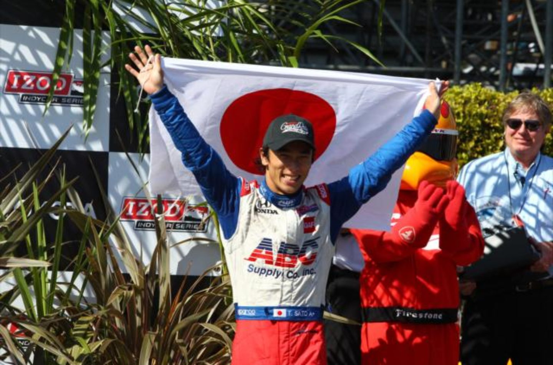 Indycar   Sato firma con Andretti per il 2017