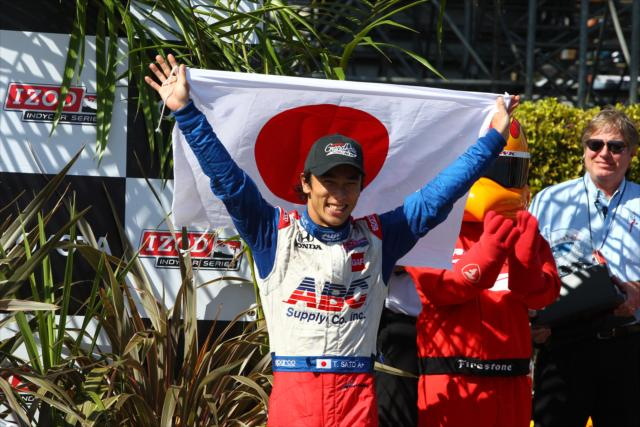 Indycar | Sato firma con Andretti per il 2017