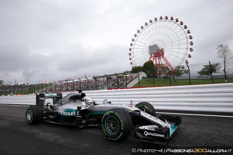 F1   GP del Giappone 2016: la griglia di partenza