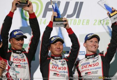 WEC   Fuji: Toyota rischia e vince, 1-2 Ford tra le GT