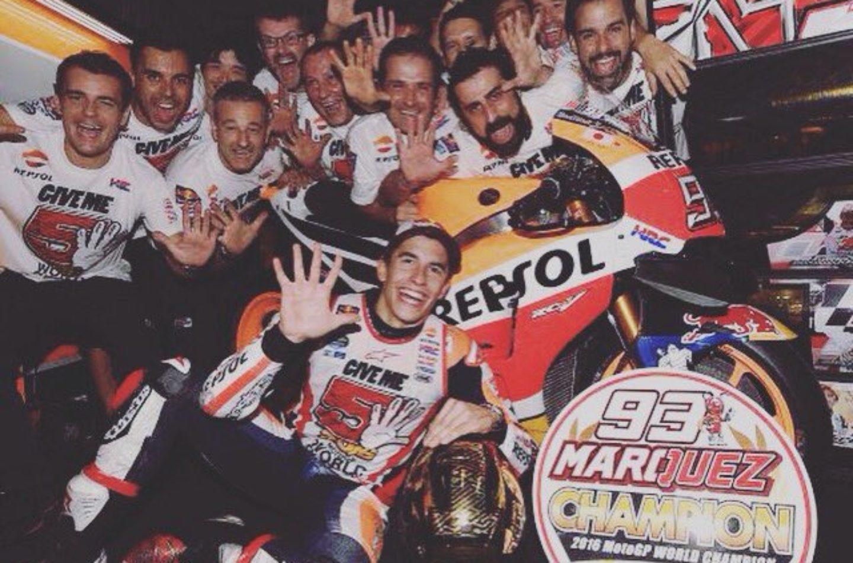 Márquez forza cinque, un futuro da record?