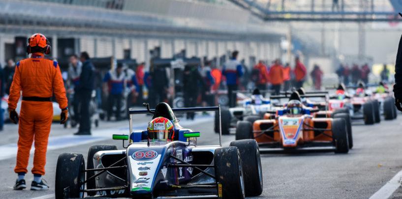 """<span class=""""entry-title-primary"""">F4   Il resoconto dell'ultimo appuntamento a Monza</span> <span class=""""entry-subtitle"""">Il weekend sull'Autodromo Nazionale ha incoronato Siebert</span>"""