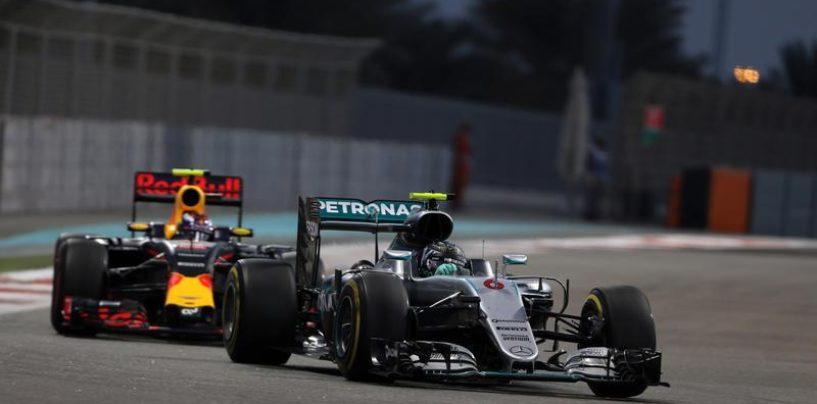"""<span class=""""entry-title-primary"""">Venti secondi per la gloria</span> <span class=""""entry-subtitle"""">Il sorpasso di Rosberg su Verstappen vale, di fatto, il titolo dopo una carriera da underdog</span>"""