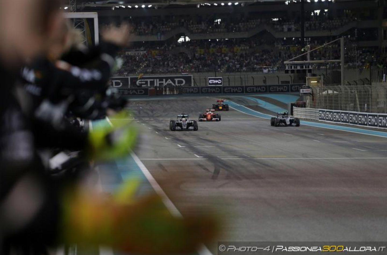 F1 | GP di Abu Dhabi 2016, la gara dei primi 10