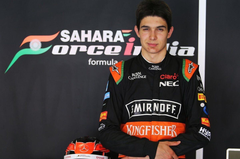 F1   Force India annuncia Esteban Ocon per il 2017