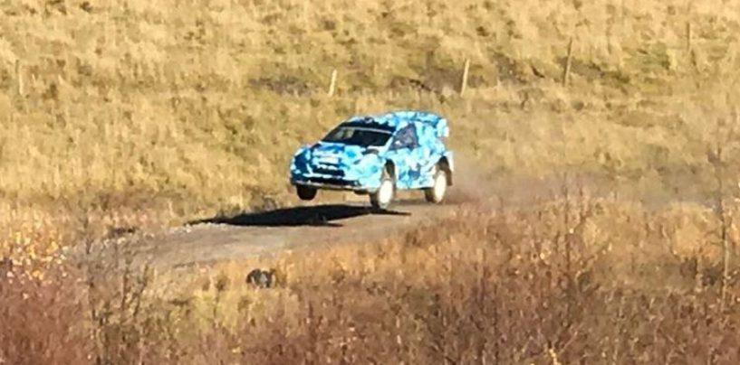 """<span class=""""entry-title-primary"""">Ogier ha provato anche la Fiesta WRC</span> <span class=""""entry-subtitle"""">Il francese in Galles ha guidato la nuova arma del team MSport</span>"""