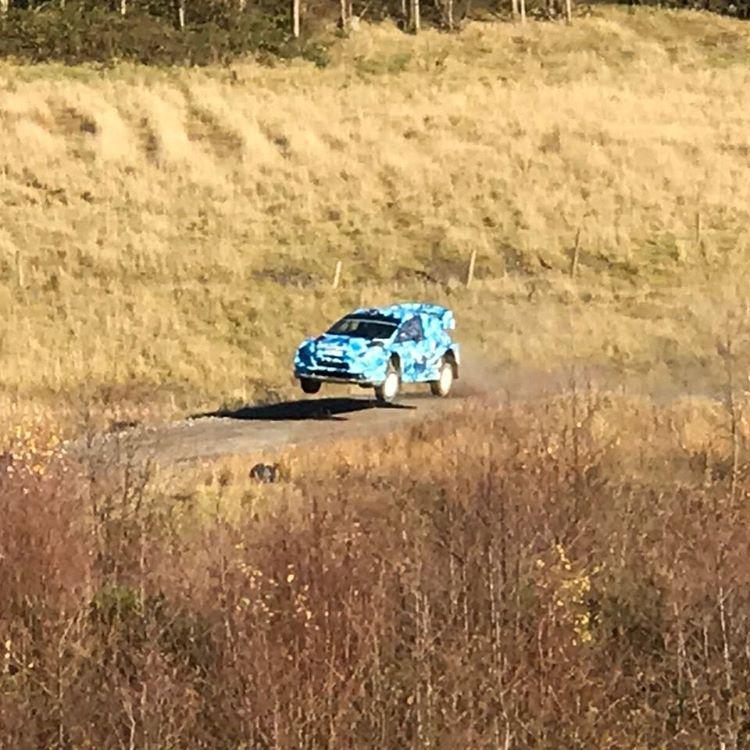 Ogier ha provato anche la Fiesta WRC