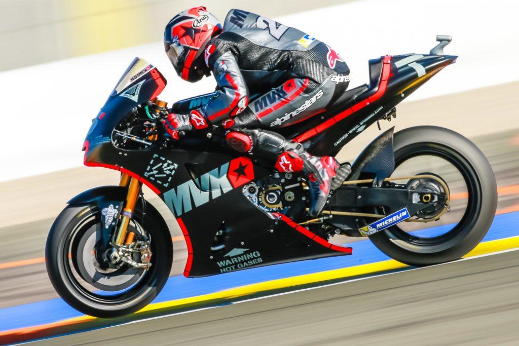 MotoGP | Viñales incanta Valencia, ancora suo il miglior tempo
