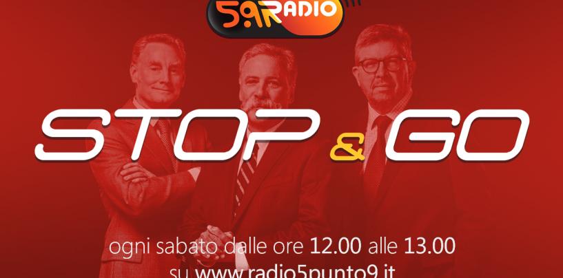 """<span class=""""entry-title-primary"""">""""Stop&Go"""" live sabato 28 gennaio alle ore 12.00 su Radio 5.9</span> <span class=""""entry-subtitle"""">La trasmissione di Passione a 300 all'ora in diretta fino alle 13</span>"""