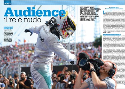 La storia degli ascolti F1 continua su... Autosprint!