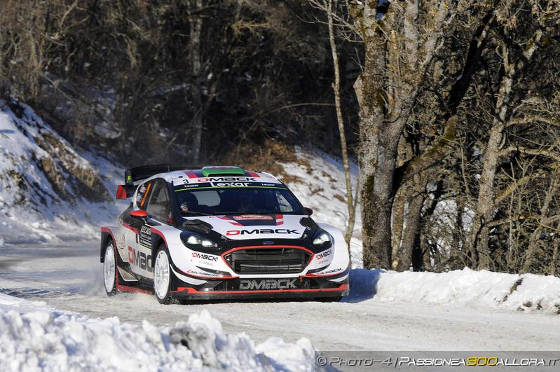 WRC | Montecarlo: Neuville sbatte, Ogier passa al comando