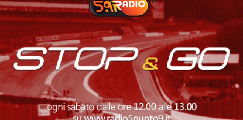 """<span class=""""entry-title-primary"""">""""Stop&Go"""" live domani 7 gennaio alle 12.00 su Radio 5.9</span> <span class=""""entry-subtitle"""">La trasmissione di Passione a 300 all'ora in diretta fino alle 13</span>"""