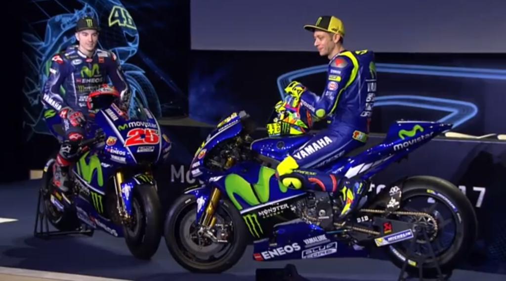 MotoGP | Presentata la nuova Yamaha M1 di Rossi e Viñales